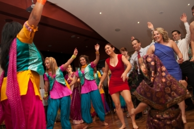 Bhangra34 Wedding guests love Bollywood dance