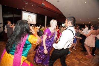 Bhangra42 Bride groom have fun at wedding