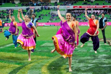 bollywood at sporting events