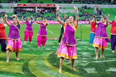 bollywood at sporting events melbourne