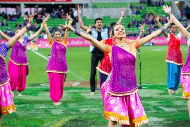 melbourne bollywood at sporting events