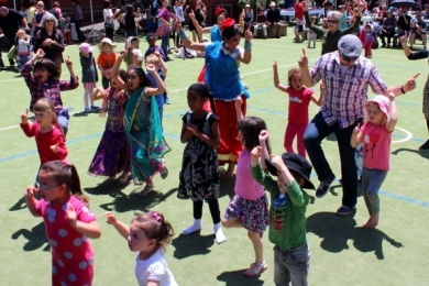 Bollywood at Brunswick Primary School Arts Festivial
