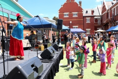 Brunswick Bollywood with kids