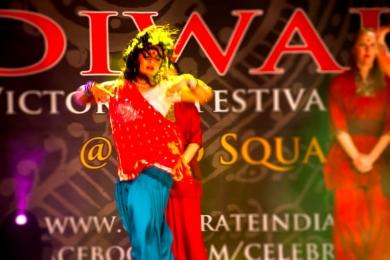 diwali dance performance