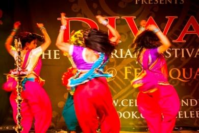 diwali indian dance performance