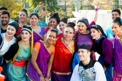 Bollywood Multicultural Festival for Melbourne Storm NRL