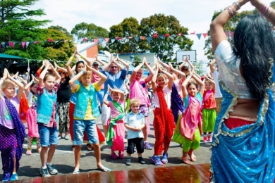 Bollywood School Incursion - Beaumaris Primary