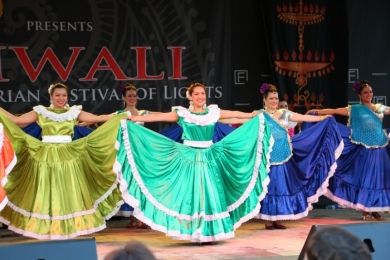 Diw2 Atlacatl Salvadorean Group and Ignite Bollywood