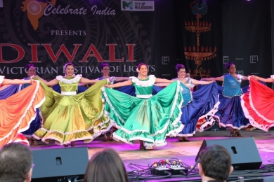 Diw2 El Salvador and Bollywood finale