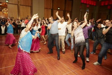 NAB & Oracle have a Bollywood 'dance off' at Crown Palladium