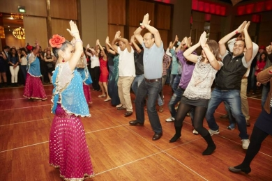 Bollywood dance for corporate groups