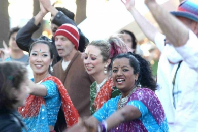 St Kilda Festival Bollywood party
