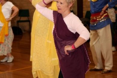 Seniors shake hips bollywood style