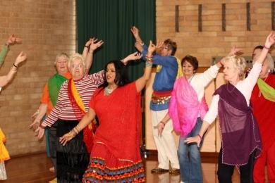 Victorian seniors festival 2010 bollywood dance cheltenham